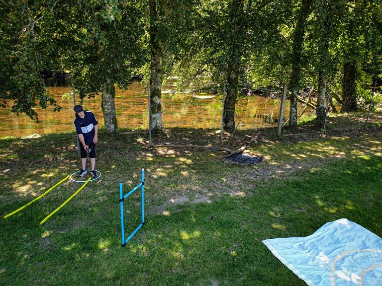 TEP BP JEPS pêche de loisirs perfectionnement gestuelle au lancer