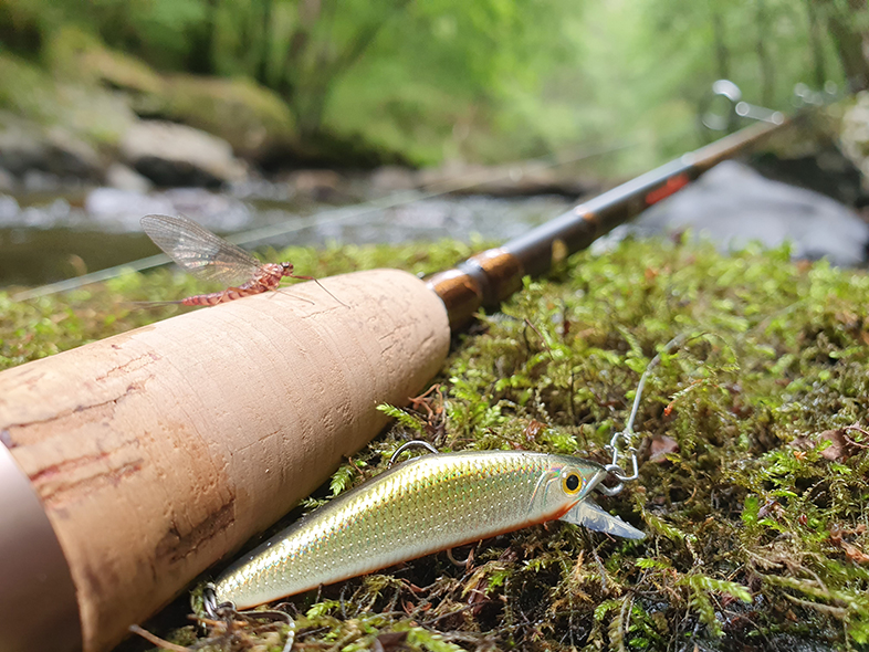 Guide de pêche ultra léger