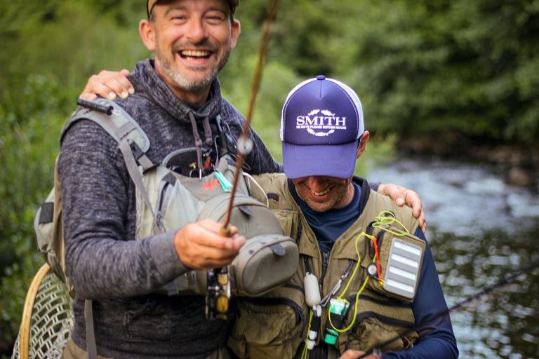 moniteur guide de pêche à la mouhe