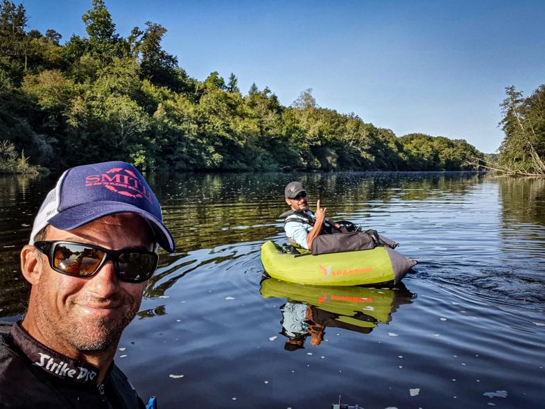 moniteur guide de pêche Float tube haute vienne creuse